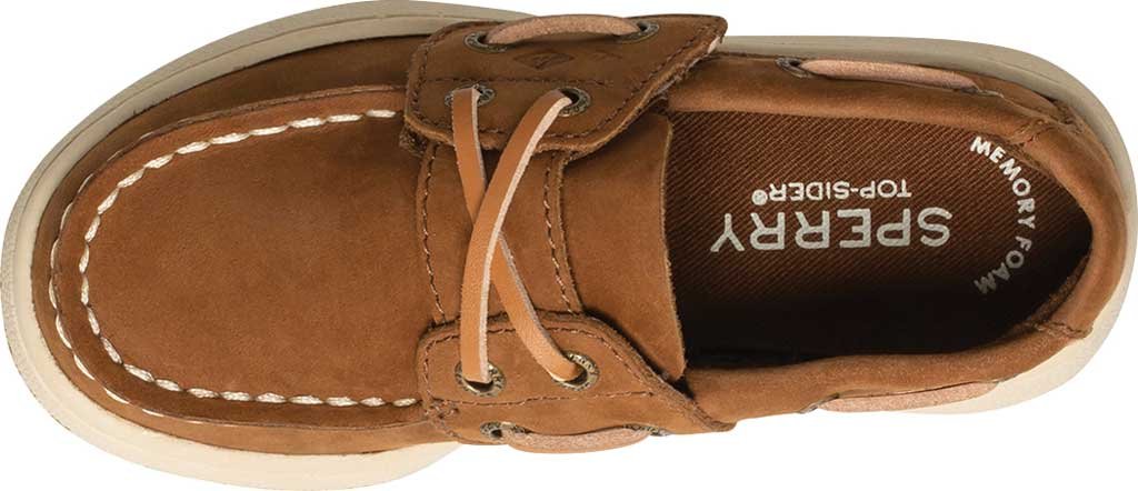 Infant Boys' Sperry Top-Sider Sperry Cup II Boat Shoe, Brown Leather, large, image 3