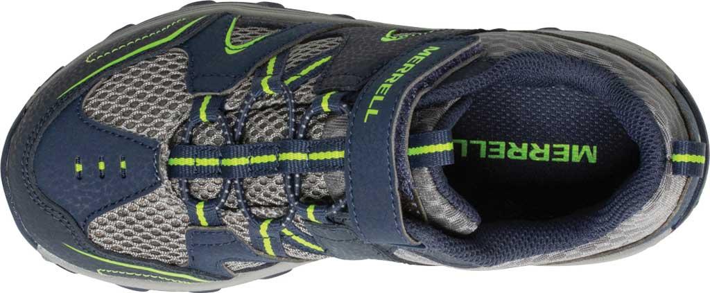 Boys' Merrell Trail Chaser Sneaker, Navy/Green, large, image 4