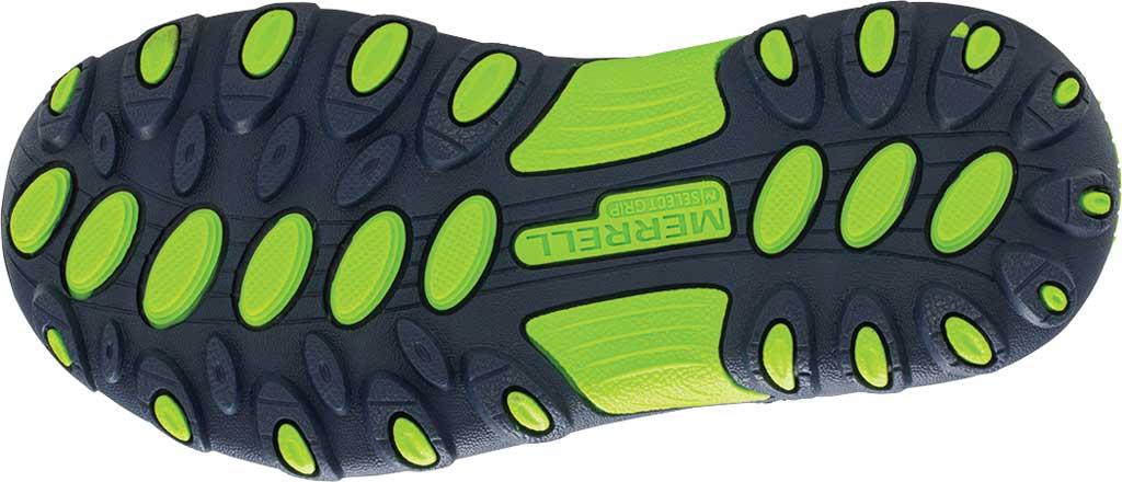 Boys' Merrell Trail Chaser Sneaker, Navy/Green, large, image 5