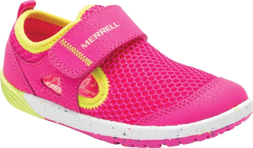 Infant Girls' Merrell Bare Steps H2O Sneaker, Pink, large, image 1
