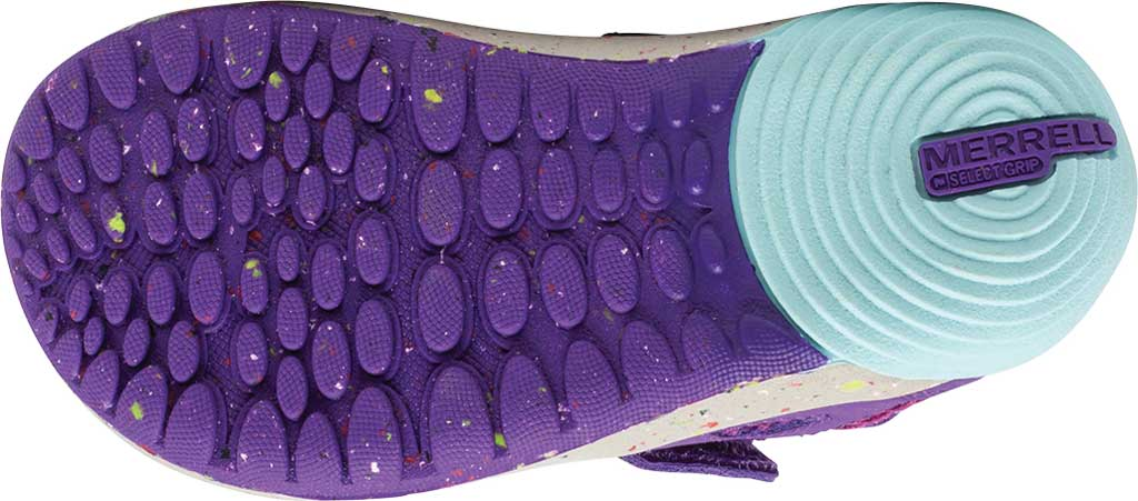 Infant Girls' Merrell Bare Steps H2O Sneaker, Purple/Turquoise Eco-Friendly Textile, large, image 5