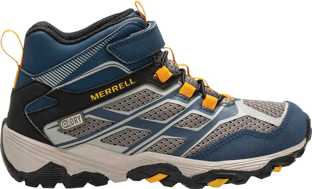 Boys' Merrell Moab FST Mid A/C Waterproof Hiking Boot, , large, image 2