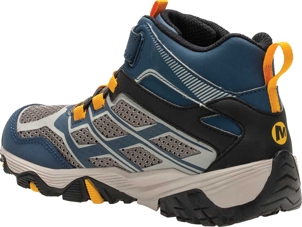 Boys' Merrell Moab FST Mid A/C Waterproof Hiking Boot, , large, image 3