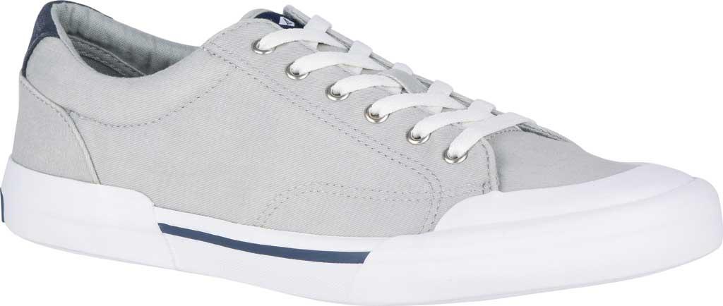 Men's Sperry Top-Sider Striper II Retro Sneaker, Grey Canvas, large, image 1