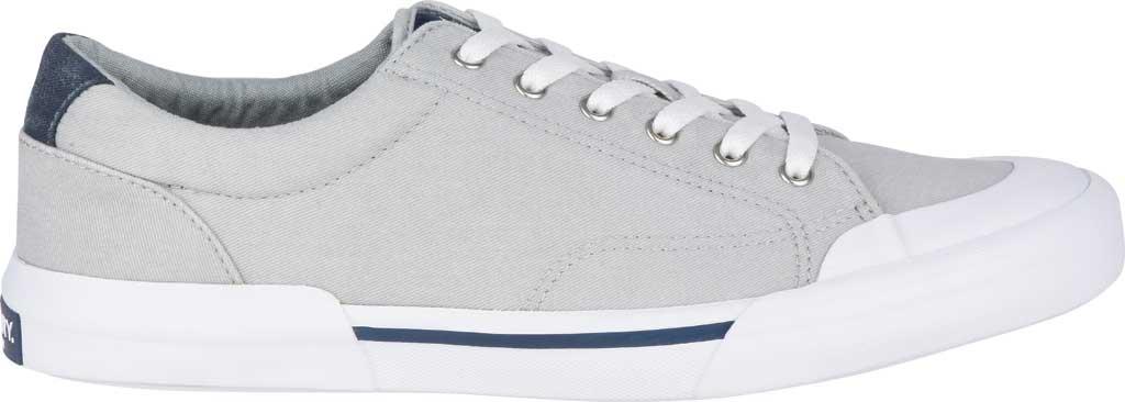 Men's Sperry Top-Sider Striper II Retro Sneaker, Grey Canvas, large, image 2