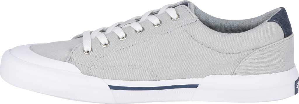 Men's Sperry Top-Sider Striper II Retro Sneaker, Grey Canvas, large, image 3