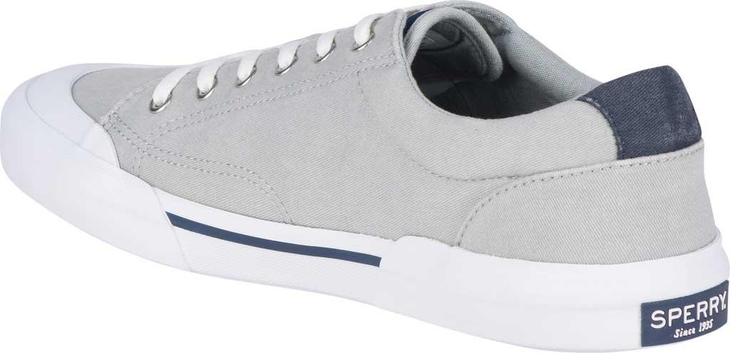 Men's Sperry Top-Sider Striper II Retro Sneaker, Grey Canvas, large, image 4
