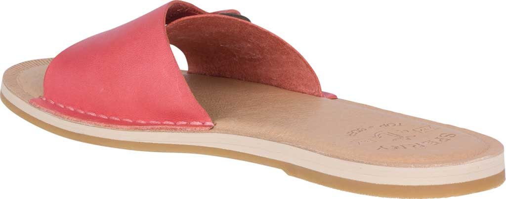 Women's Sperry Top-Sider Seaport Slide, Red Full Grain Leather, large, image 4