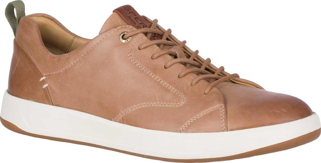 Men's Sperry Top-Sider Gold Cup Richfield LTT Sneaker, Tan Full Grain Leather, large, image 1