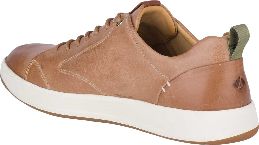 Men's Sperry Top-Sider Gold Cup Richfield LTT Sneaker, Tan Full Grain Leather, large, image 4