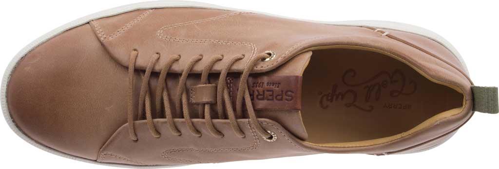 Men's Sperry Top-Sider Gold Cup Richfield LTT Sneaker, Tan Full Grain Leather, large, image 5