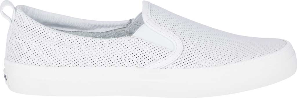 Women's Sperry Top-Sider Crest Twin Gore Sneaker, White Leather, large, image 2