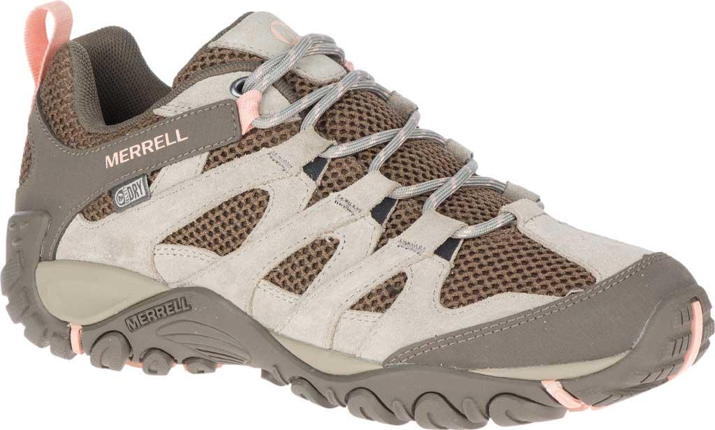 Women's Merrell Alverstone Waterproof Hiker Boot, Aluminum Suede/Mesh, large, image 1