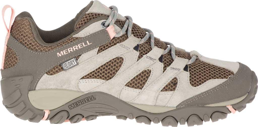 Women's Merrell Alverstone Waterproof Hiker Boot, Aluminum Suede/Mesh, large, image 2