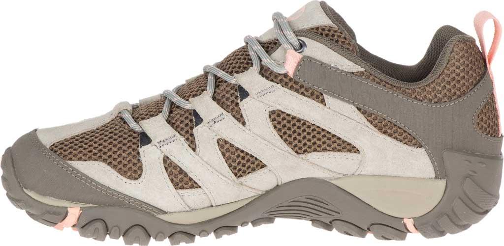 Women's Merrell Alverstone Waterproof Hiker Boot, Aluminum Suede/Mesh, large, image 3