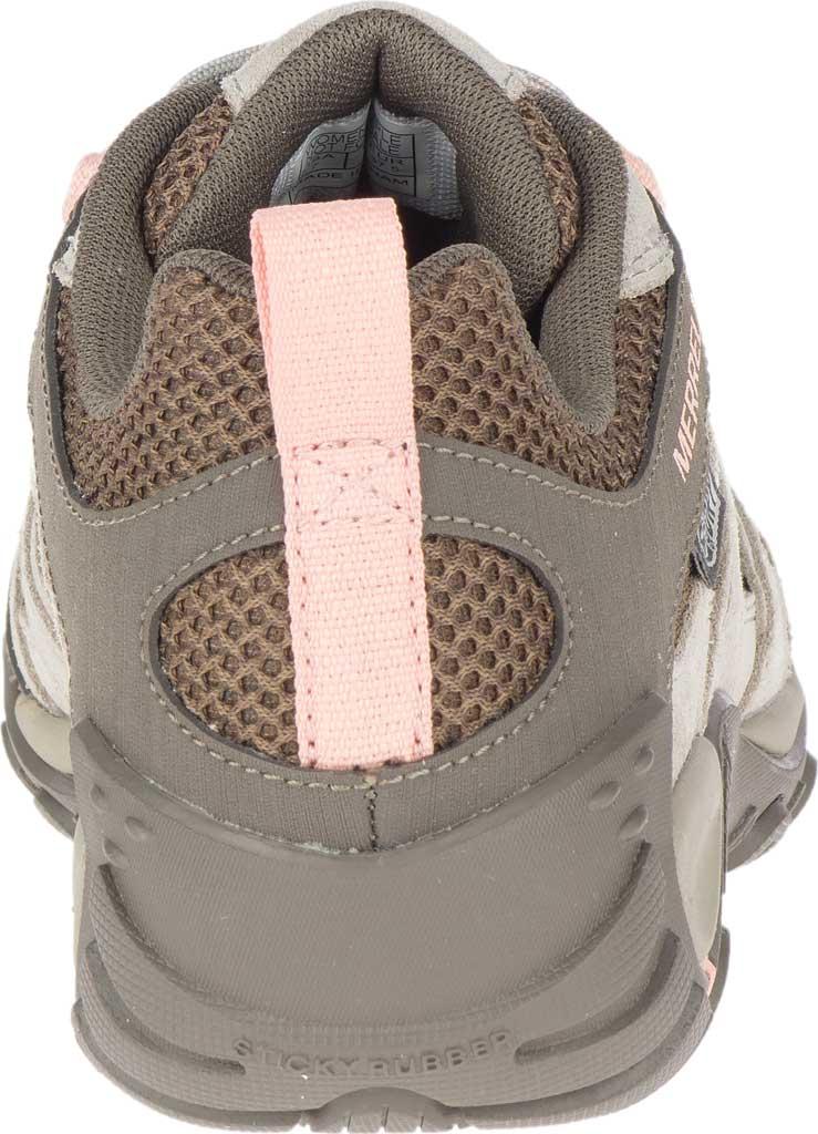 Women's Merrell Alverstone Waterproof Hiker Boot, Aluminum Suede/Mesh, large, image 4
