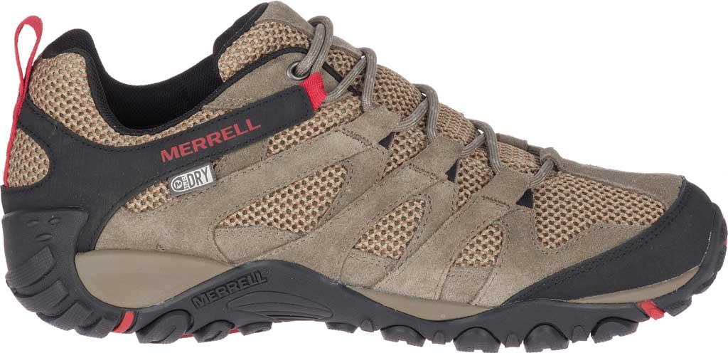 Men's Merrell Alverstone Waterproof Hiker Boot, Boulder Suede/Mesh, large, image 2