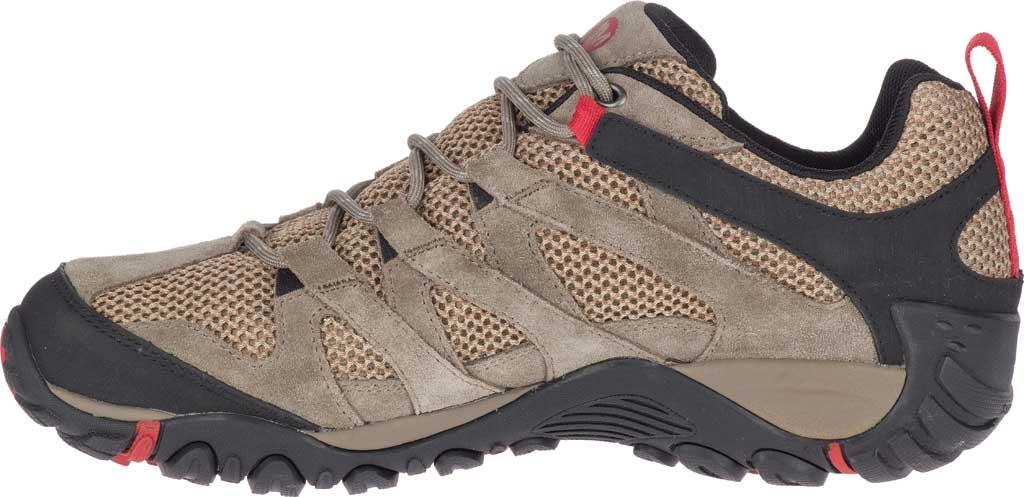 Men's Merrell Alverstone Waterproof Hiker Boot, Boulder Suede/Mesh, large, image 3