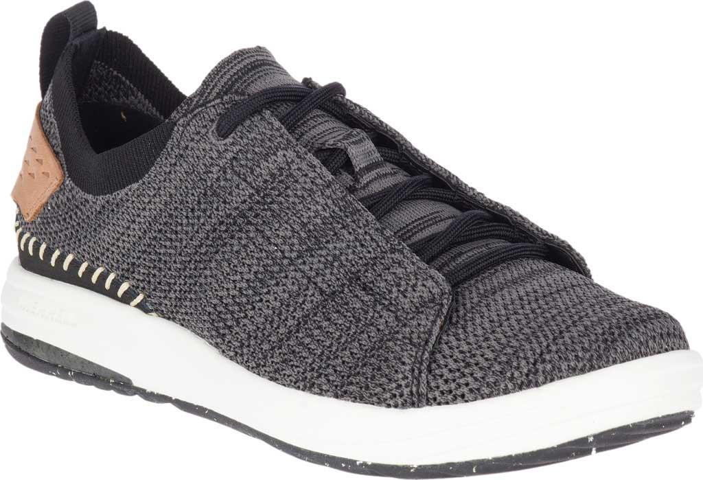 Women's Merrell Gridway Sneaker, Black Knit, large, image 1