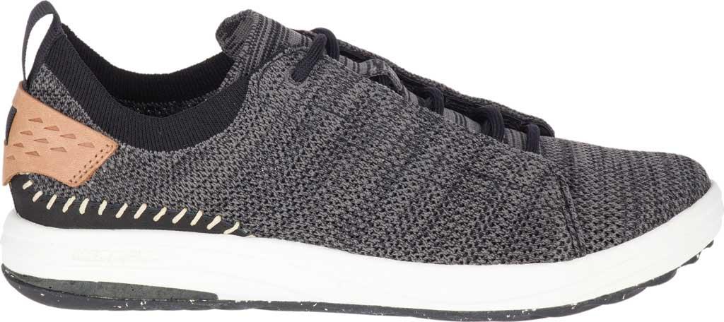 Women's Merrell Gridway Sneaker, Black Knit, large, image 2