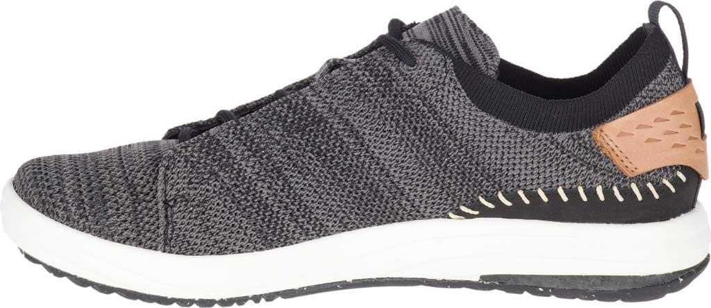 Women's Merrell Gridway Sneaker, Black Knit, large, image 3