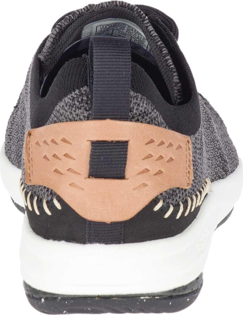 Women's Merrell Gridway Sneaker, Black Knit, large, image 4