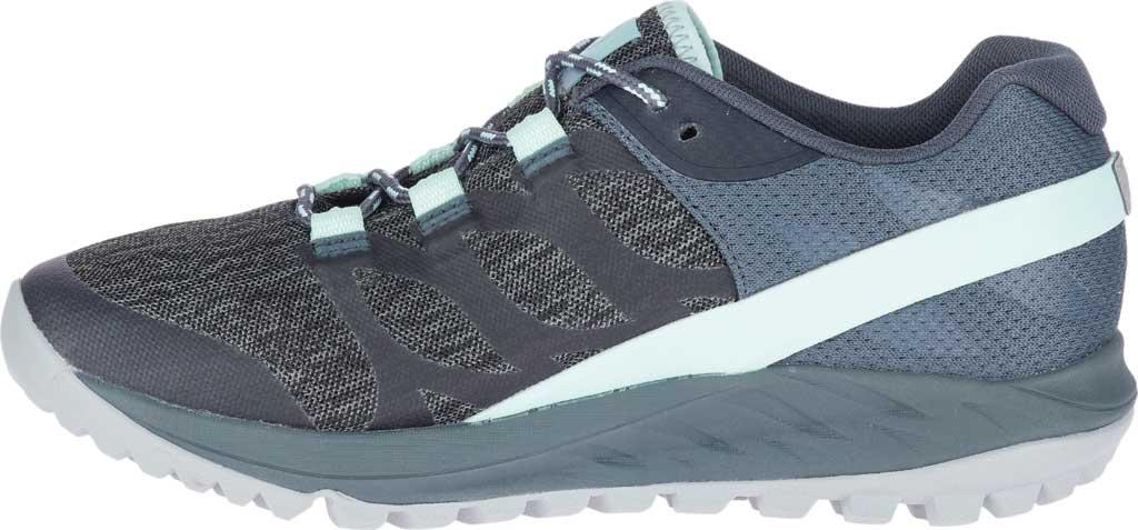 Women's Merrell Antora Trail Shoe, Turbulence Textile/TPU, large, image 3