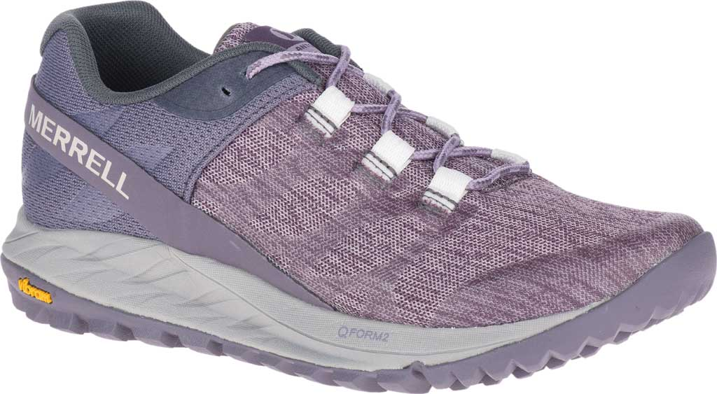 Women's Merrell Antora Trail Shoe, Nirvana Textile/TPU, large, image 1