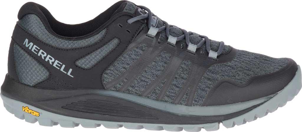 Men's Merrell Nova Trail Shoe, Black Textile/TPU, large, image 2