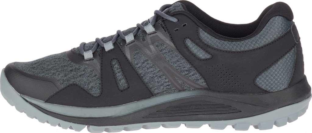 Men's Merrell Nova Trail Shoe, Black Textile/TPU, large, image 3