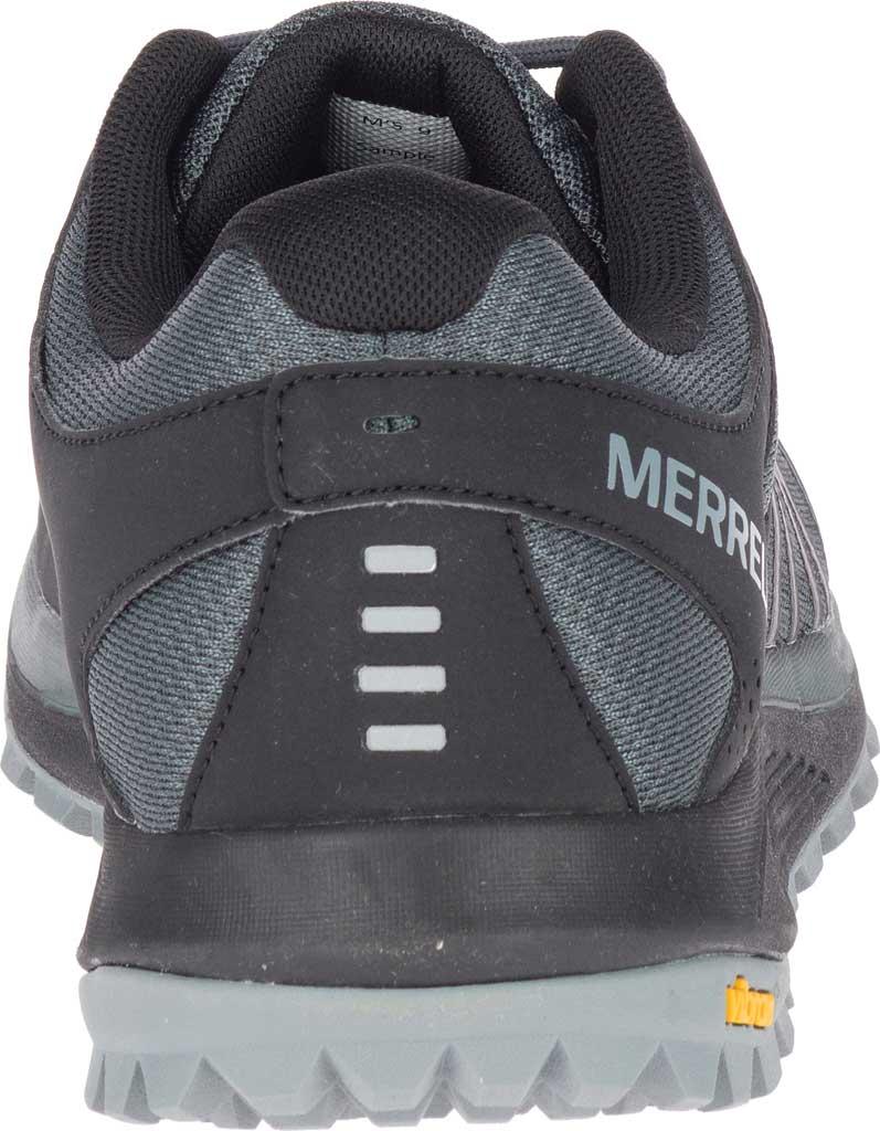 Men's Merrell Nova Trail Shoe, Black Textile/TPU, large, image 4