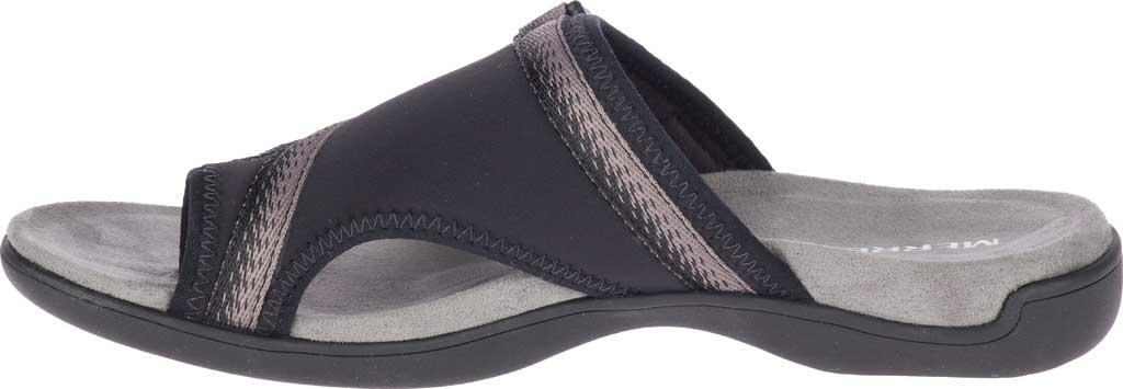 Women's Merrell District Muri Wrap Toe Loop Sandal, Black/Charcoal Textile/Lycra/Neoprene, large, image 3