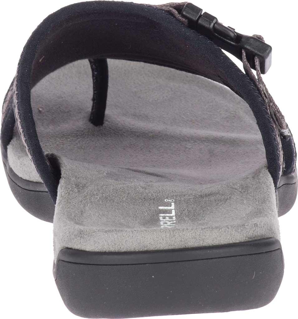 Women's Merrell District Muri Wrap Toe Loop Sandal, Black/Charcoal Textile/Lycra/Neoprene, large, image 4