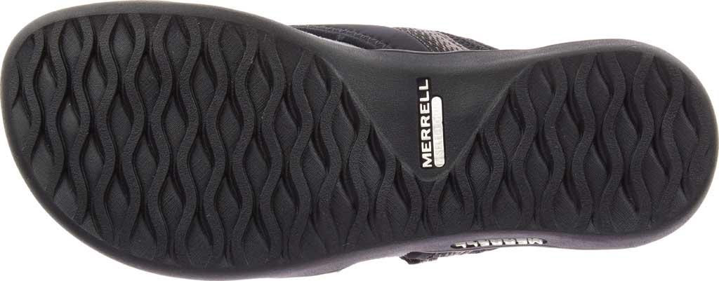 Women's Merrell District Muri Wrap Toe Loop Sandal, Black/Charcoal Textile/Lycra/Neoprene, large, image 6