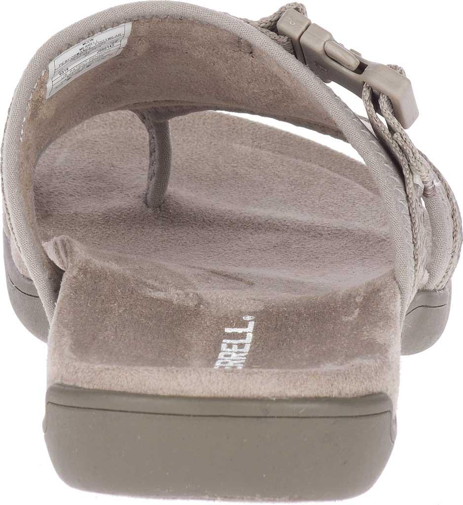 Women's Merrell District Muri Wrap Toe Loop Sandal, Moon Textile/Lycra/Neoprene, large, image 4