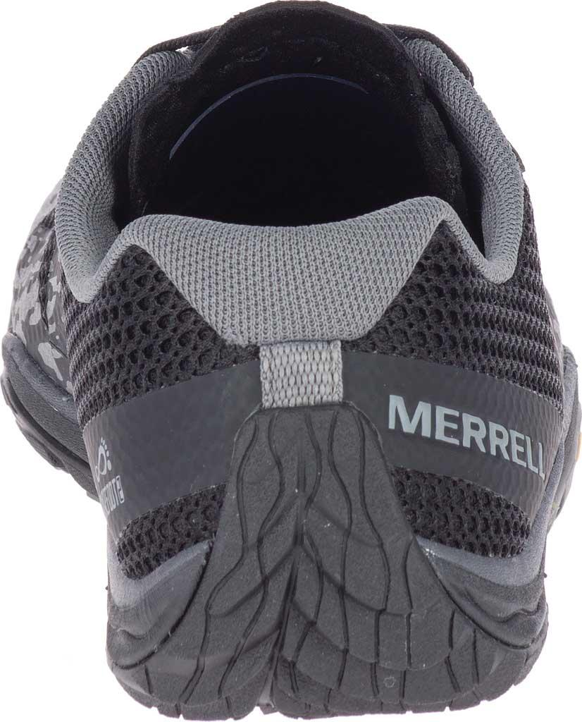 Women's Merrell Trail Glove 5 Trainer, Black Mesh/TPU, large, image 4