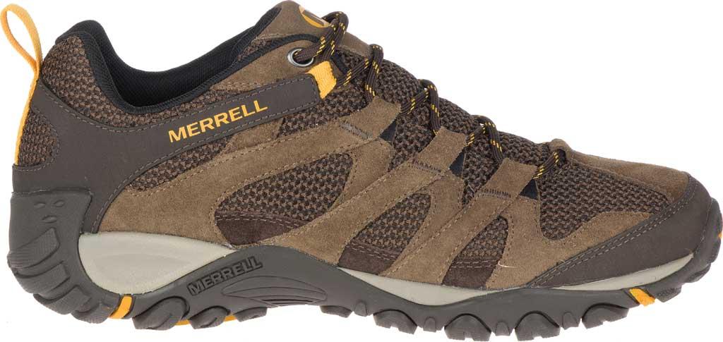 Men's Merrell Alverstone Hiking Boot, Merrell Stone Suede/Mesh, large, image 2