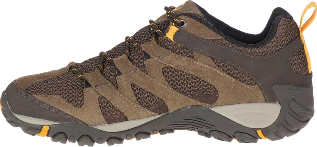 Men's Merrell Alverstone Hiking Boot, Merrell Stone Suede/Mesh, large, image 3