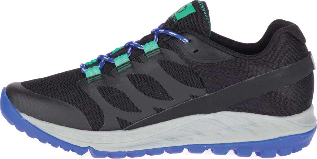 Women's Merrell Antora GORE-TEX Trail Shoe, Black/Dazzle Textile/TPU, large, image 3