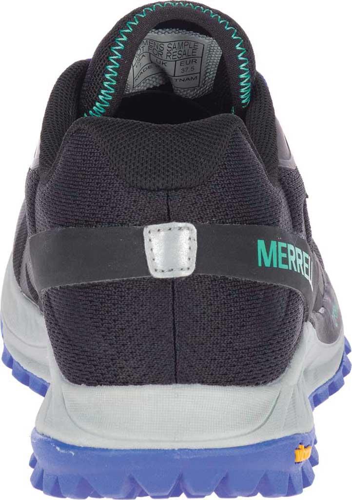 Women's Merrell Antora GORE-TEX Trail Shoe, Black/Dazzle Textile/TPU, large, image 4