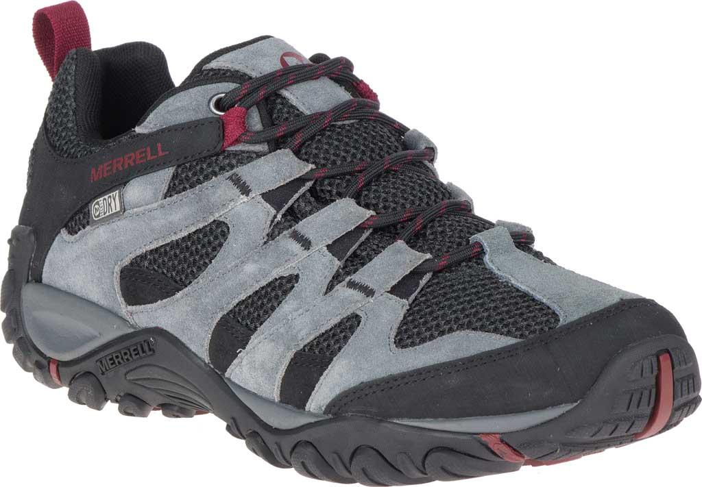 Men's Merrell Alverstone Waterproof Hiking Boot, Castlerock Suede/Mesh, large, image 1