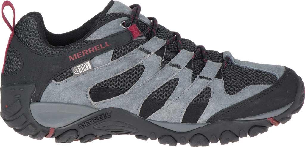 Men's Merrell Alverstone Waterproof Hiking Boot, Castlerock Suede/Mesh, large, image 2