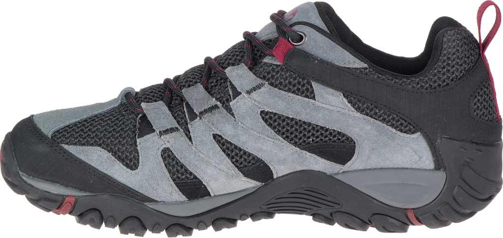 Men's Merrell Alverstone Waterproof Hiking Boot, Castlerock Suede/Mesh, large, image 3