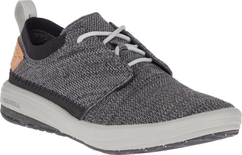 Men's Merrell Gridway Sneaker, Black Knit, large, image 1