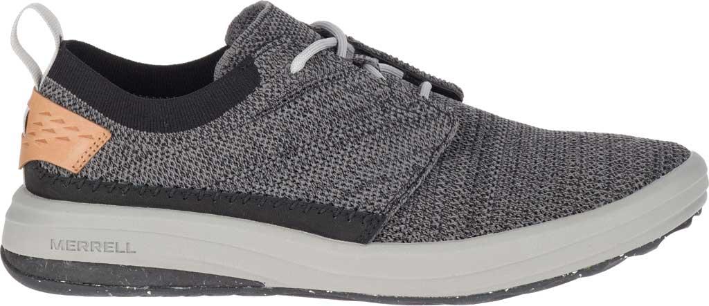 Men's Merrell Gridway Sneaker, Black Knit, large, image 2