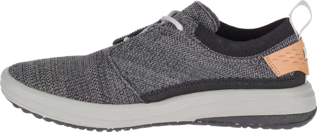 Men's Merrell Gridway Sneaker, Black Knit, large, image 3