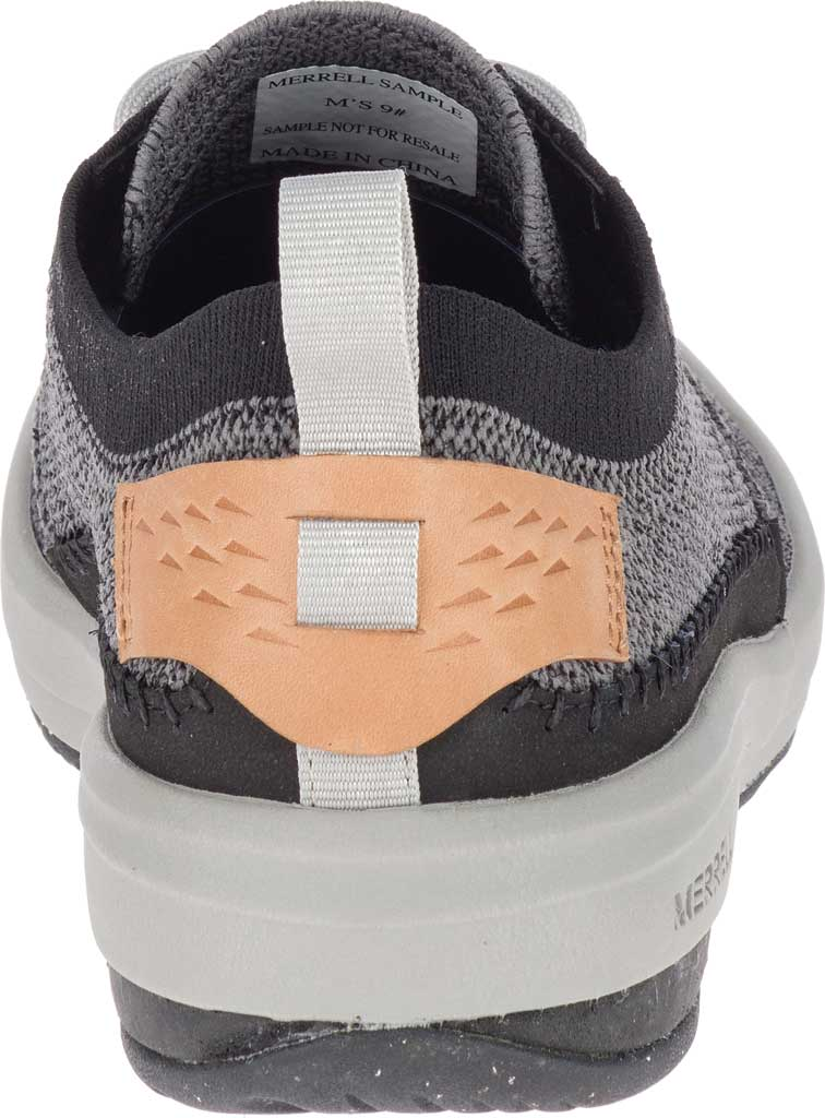 Men's Merrell Gridway Sneaker, Black Knit, large, image 4