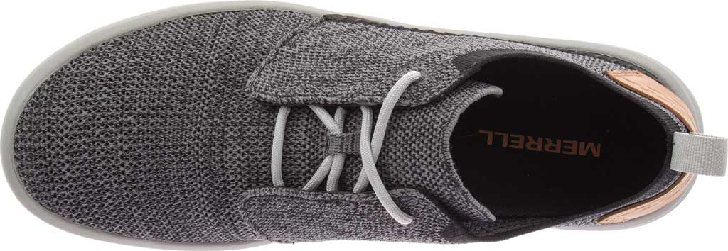 Men's Merrell Gridway Sneaker, Black Knit, large, image 5