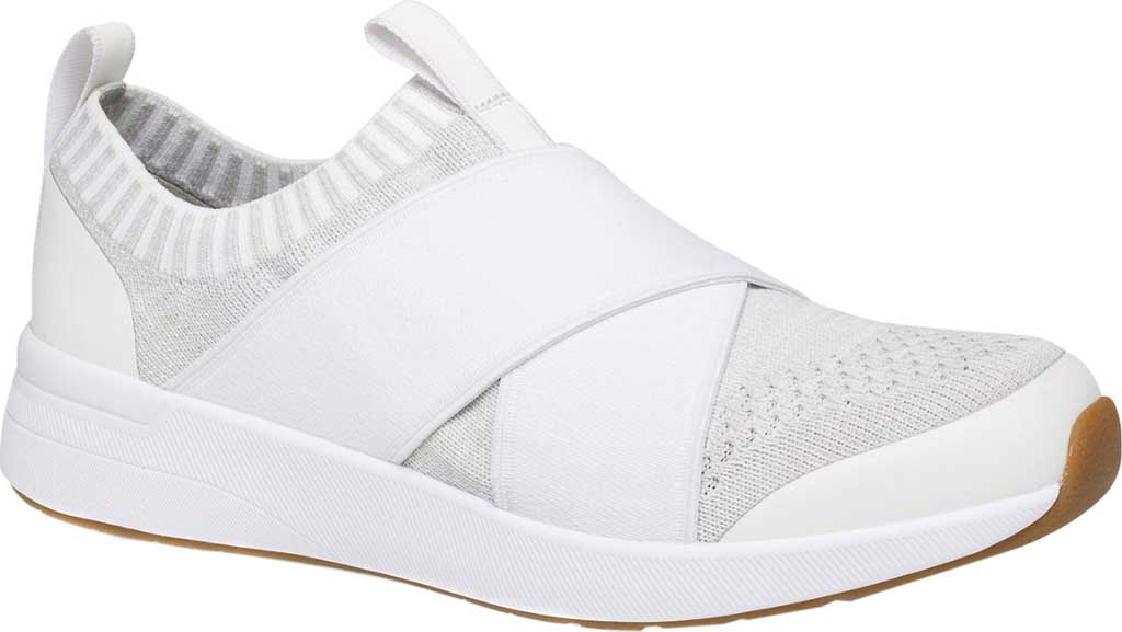 Women's Keds Studio Jumper Engineered Mesh Slip On, White Mesh, large, image 1