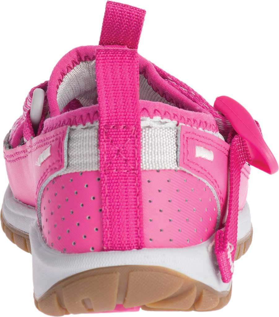 Children's Chaco Odyssey Vegan Sport Sandal, Pink Mesh, large, image 4